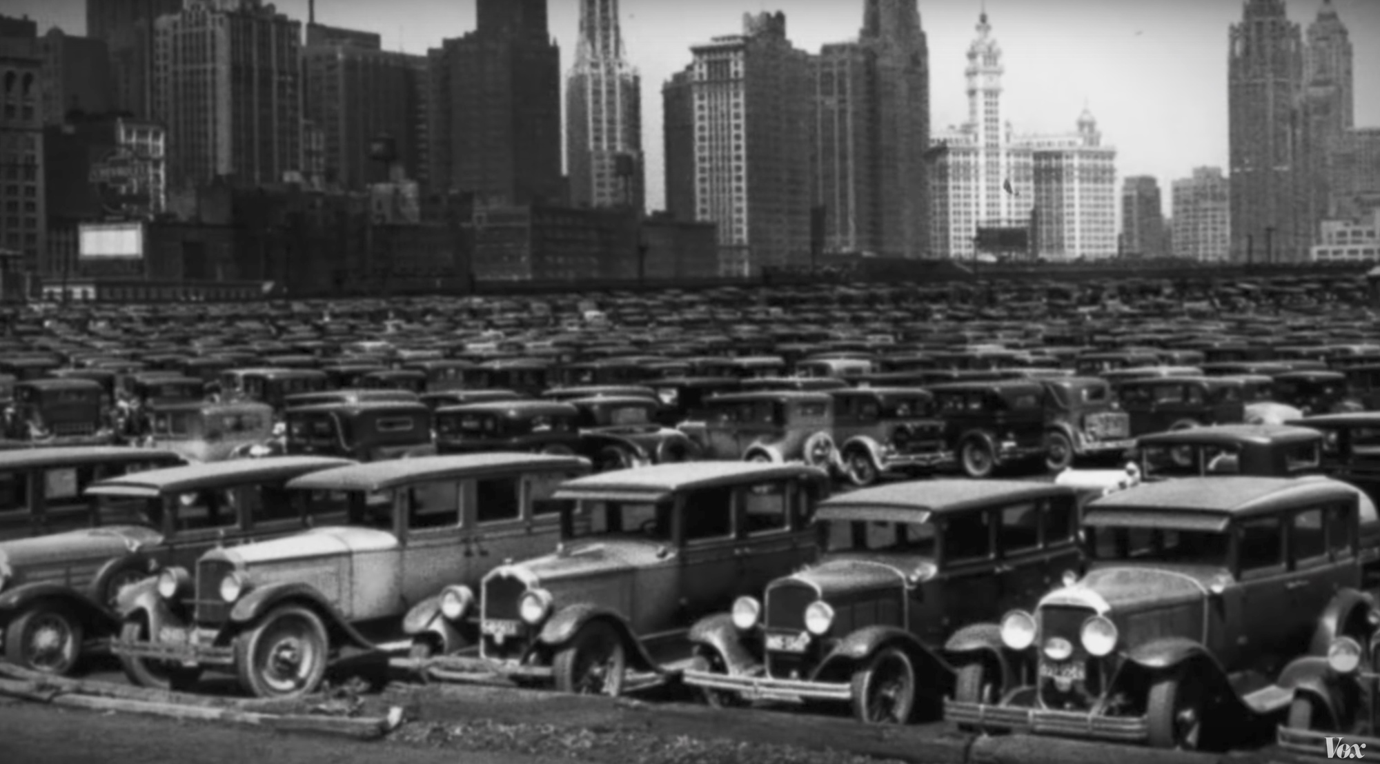 Why Is Car Parking So Ubiquitous in the US? This Video Explains Everything
