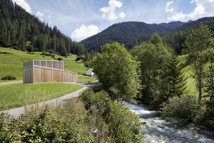 Planta Hidroeléctrica Ragn d'Err / Vincenzo Cangemi Architectes, © Ralph Feiner