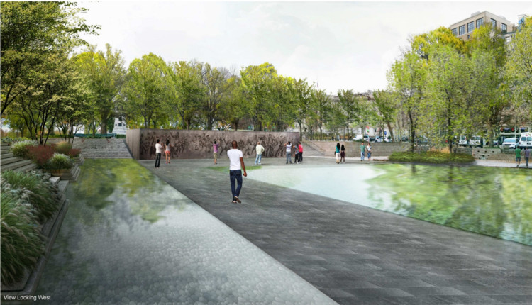 Revised Design for Washington DC WWI Memorial Unveiled, Courtesy of National Capital Planning Commission
