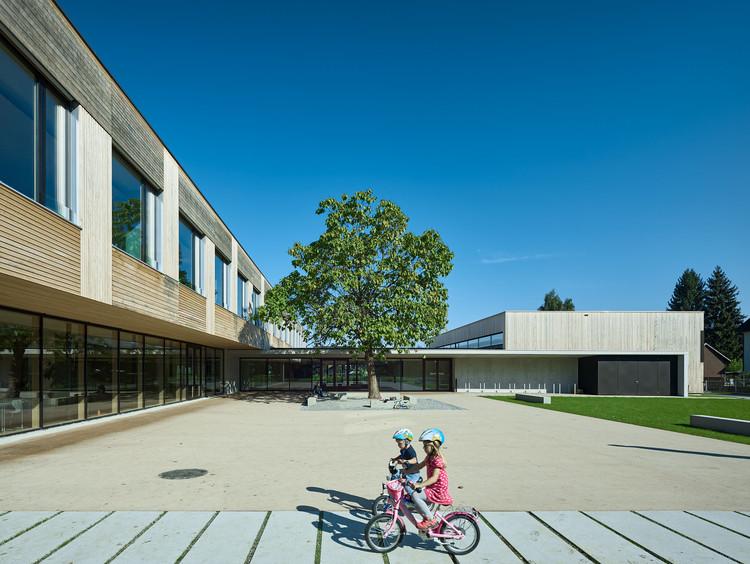 Elementary School Edlach / Dietrich | Untertrifaller Architekten, © Bruno Klomfar