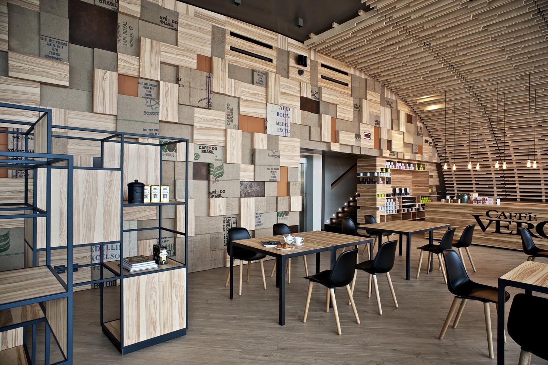 Alce Luzzara Reggio Emilia gallery of caffè vero / progettocmr - 3