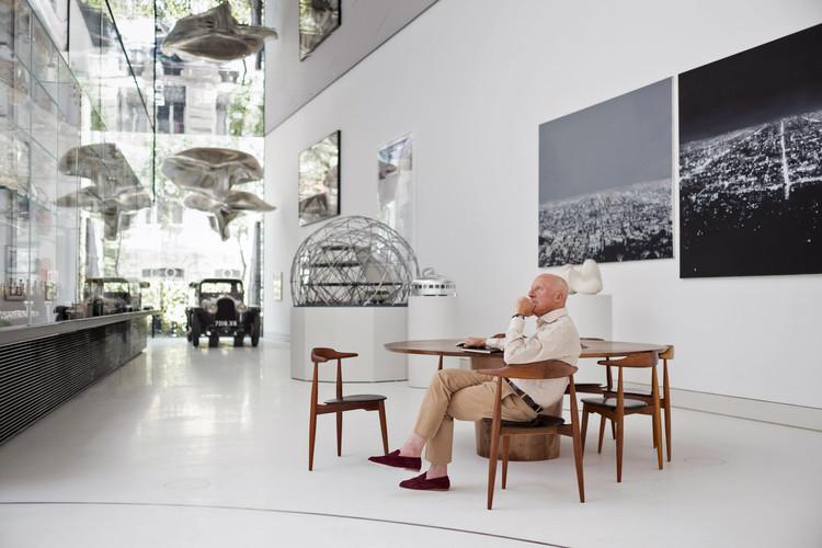 Norman Foster: 'La sociedad avanza y progresa. Hay que ser optimista', Norman Foster reflexiona en su fundación inaugurada en Madrid. Image © Guillermo Rodríguez