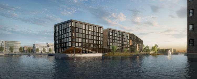 Orange Architects Wins Competition to Build Mixed-Use Development on Amsterdam Harbor, Courtesy of Orange Architects
