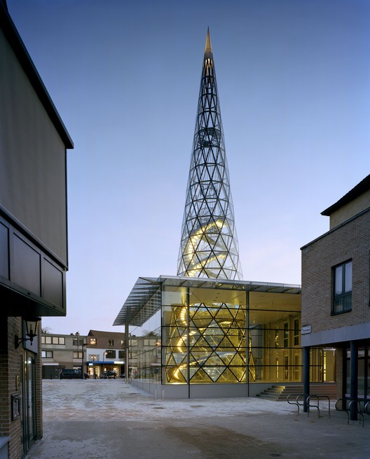 The Glass Centre / Philippe Samyn and Partners, © Marie-Françoise Plissart