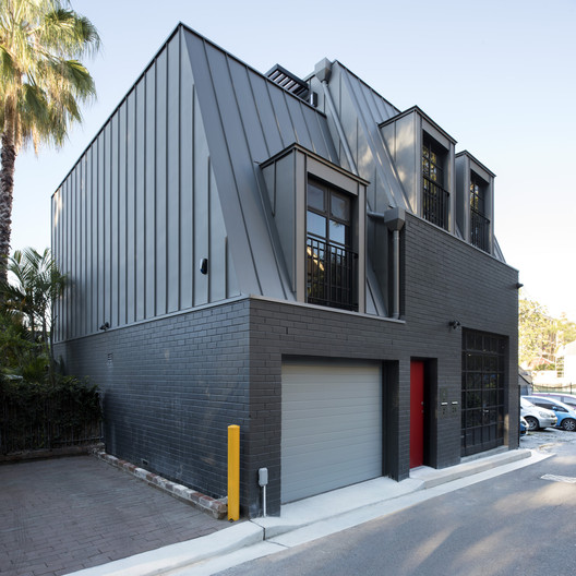 Glebe House - Studio & Residence / U+I Building Studio