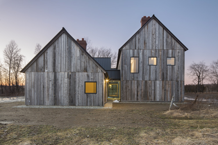 Townships Farmhouse / LAMAS, © Stephane Groleau and Laetitia Boudaud