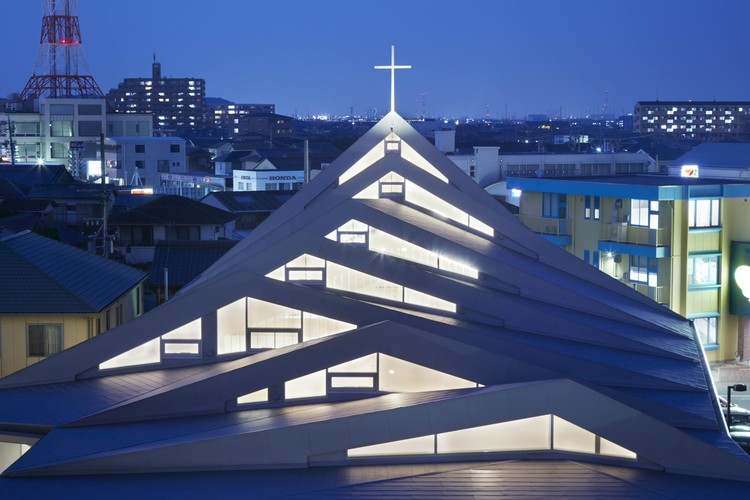 Catholic Suzuka Church  / Alphaville Architects, © Toshiyuki Yano