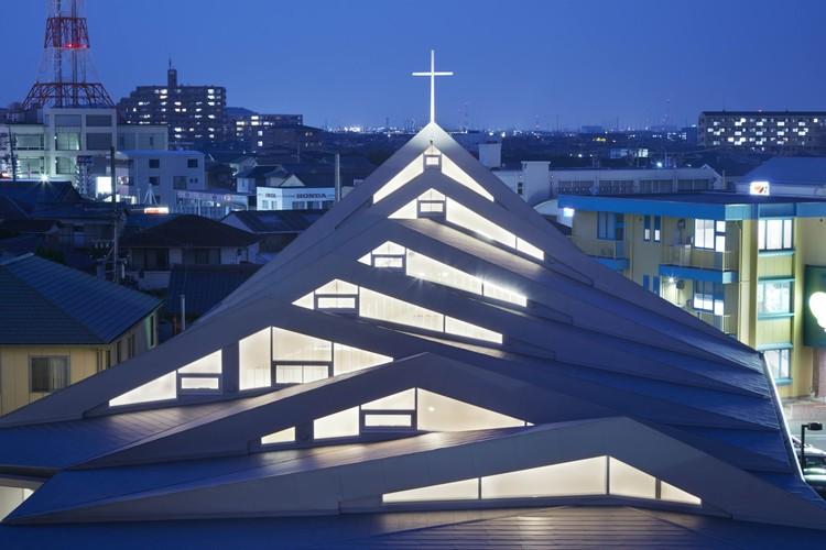 Iglesia católica de Suzuka / Alphaville Architects, © Toshiyuki Yano