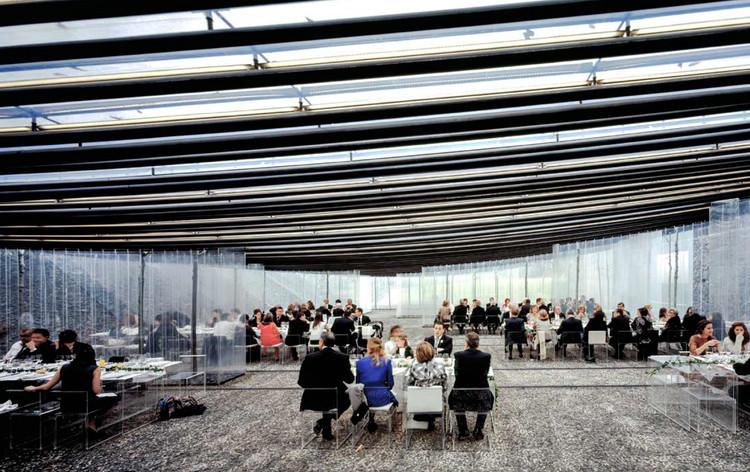 RCR Arquitectes participará en MUGAK, la primera Bienal de Arquitectura de Euskadi, Restaurante Les Cols / RCR Arquitectes. Image © Hisao Suzuki