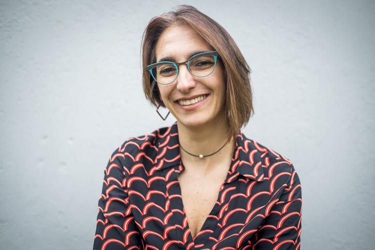 Palestra de Adriana Levisky na Greenbuilding Brasil 2017, Arquiteta e urbanista Adriana Levisky - foto: Nathalie Artaxo