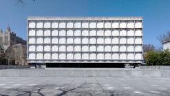 Clássicos da Arquitetura: Biblioteca de Manuscritos e livros raros de Beinecke / Gordon Bunshaft (SOM)