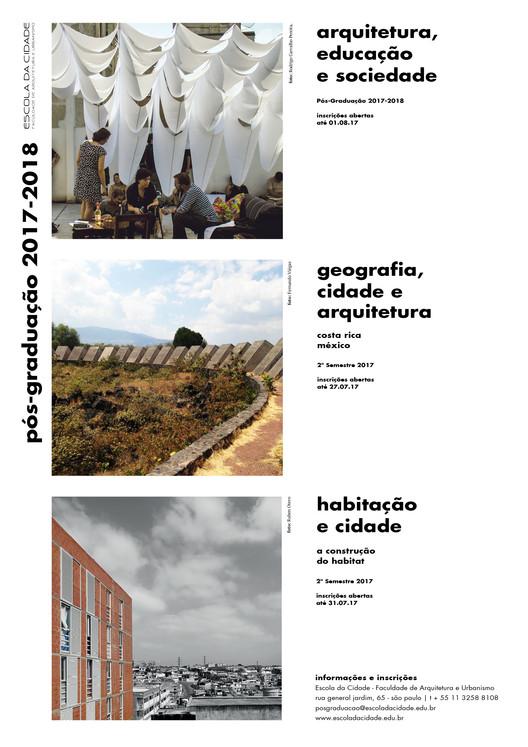 Pós-Graduação - Geografia, Cidade e Arquitetura