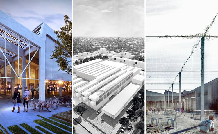Estos son los proyectos premiados para la transformación de la ex Fábrica Paylana en Uruguay, Los tres proyectos ganadores para la transformación de la Paylana en Uruguay. Image