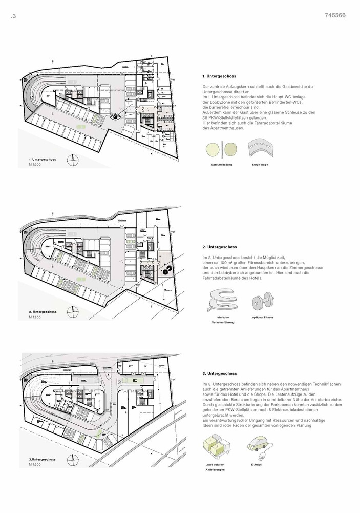 Gallery of RKW Architektur + Wins Competition for Stone-Clad Mixed ...