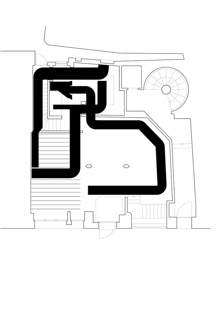 gallery of zinnengasse restaurant wuelser bechtel architekten 32zinnengasse restaurant wuelser bechtel architekten schematic ventilation
