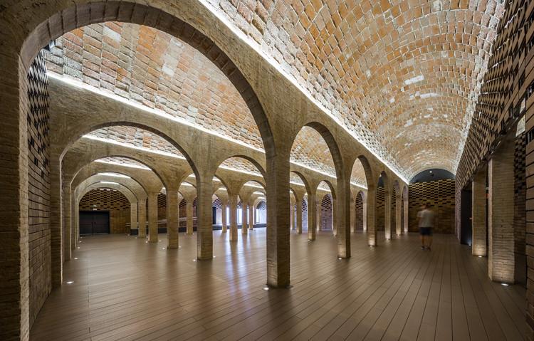 Depósito del Rei Martí  / ARCHIKUBIK + Enllaç arquitectònic Arc-Roig, © Simon Garcia