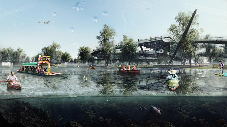 Conoce los ganadores del Premio Nacional del Acero para Estudiantes de Arquitectura en México, Cortesía de CANACERO