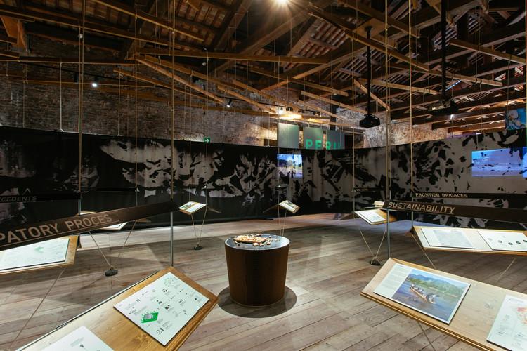 Se abre convocatoria para conformar el equipo curatorial del Pabellón Peruano en la Bienal de Venecia 2018, Participación peruana en la Bienal de Venecia 2016. Image Cortesía de Patronato Cultural del Perú