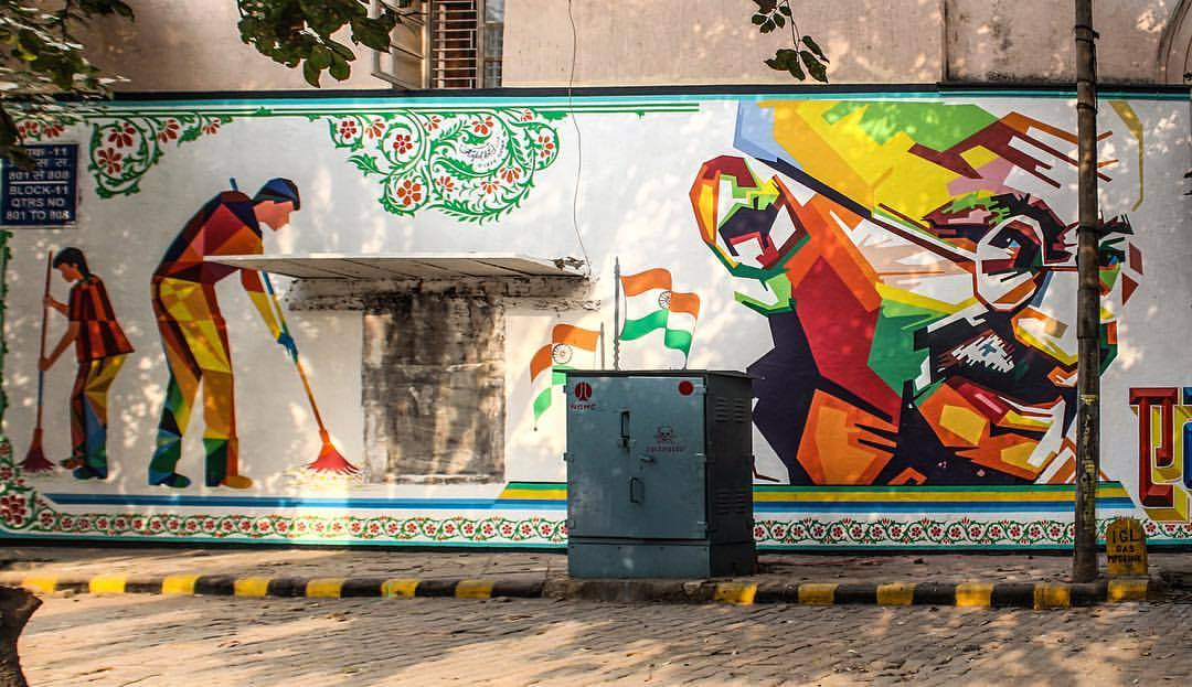 Gallery Of This Street Art Foundation Is Transforming India S Urban
