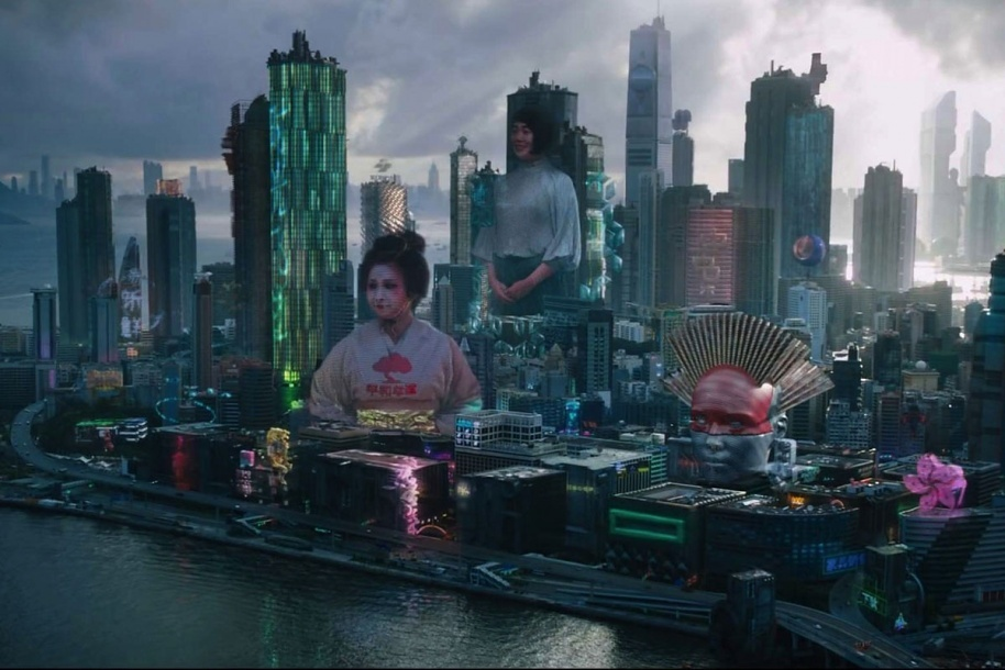 Gallery Of Examining The Constructed World Of The Blockbuster Movie Ghost In The Shell 5