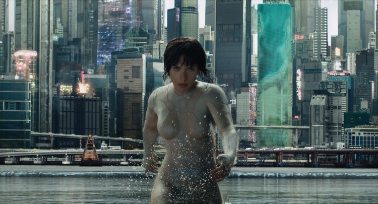 "Examining the Constructed World of the Blockbuster Movie ""Ghost in the Shell"", Still from ""Ghost in the Shell"" (2017) directed by Rupert Sanders. Image Courtesy of Strelka Magazine"