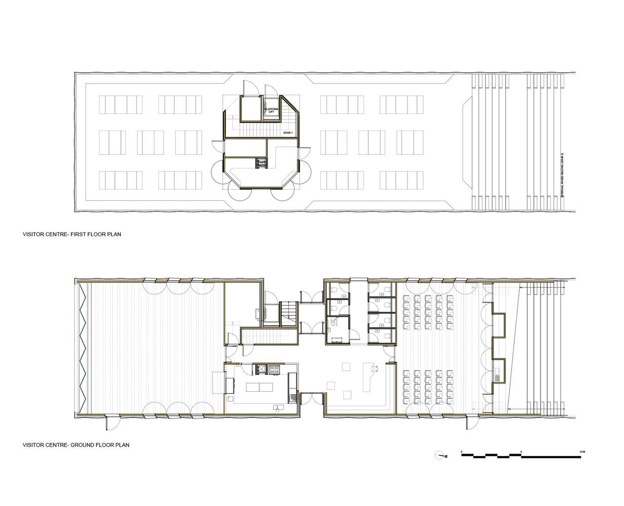 Gallery of Hastings Pier dRMM 29 – Pier House Floor Plans