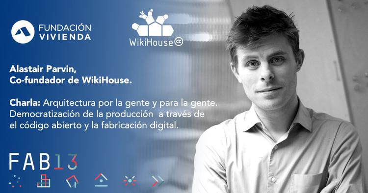 Charla de Alastair Parvin en Santiago: 'Arquitectura por la gente y para la gente', Fundacion Vivienda