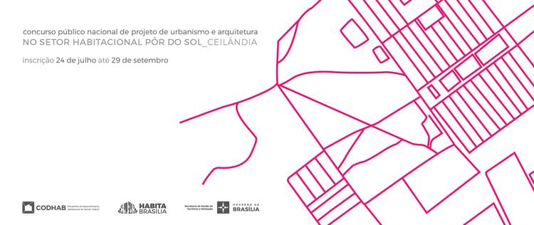 CODHAB lança concurso de projeto para o Setor Habitacional Pôr do Sol, Cortesia de CODHAB