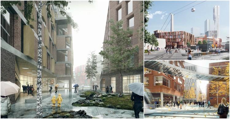 Henning Larsen Architects propõe redesenho urbano para antiga área industrial em Gotemburgo, Suécia, Cortesia de Henning Larsen Architects