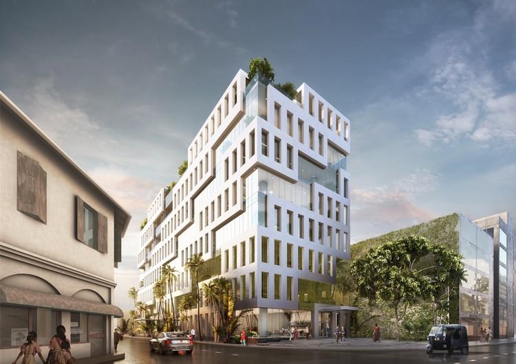 MVRDV Breaks Ground on Office Building Inspired by Sri Lankan Weaving Patterns, Courtesy of MVRDV