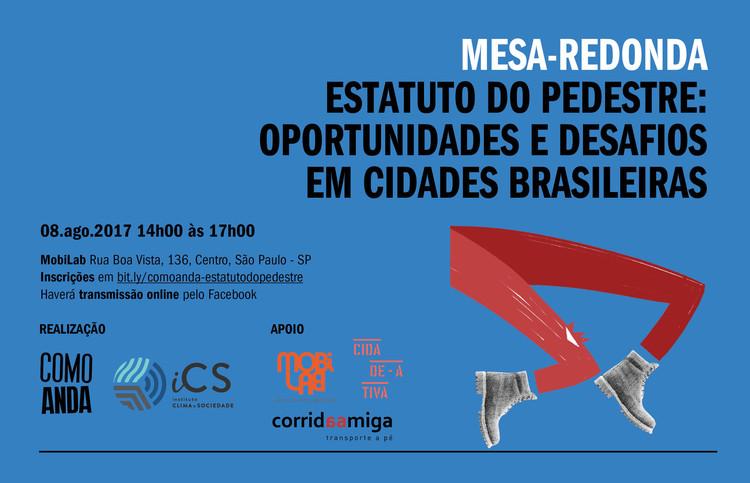 Evento debaterá oportunidades e desafios de Estatutos do Pedestre em cidades brasileiras
