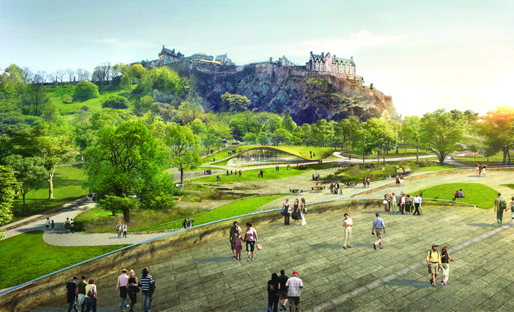 wHY-led Team Wins Competition for Edinburgh's Ross Pavilion, © wHY