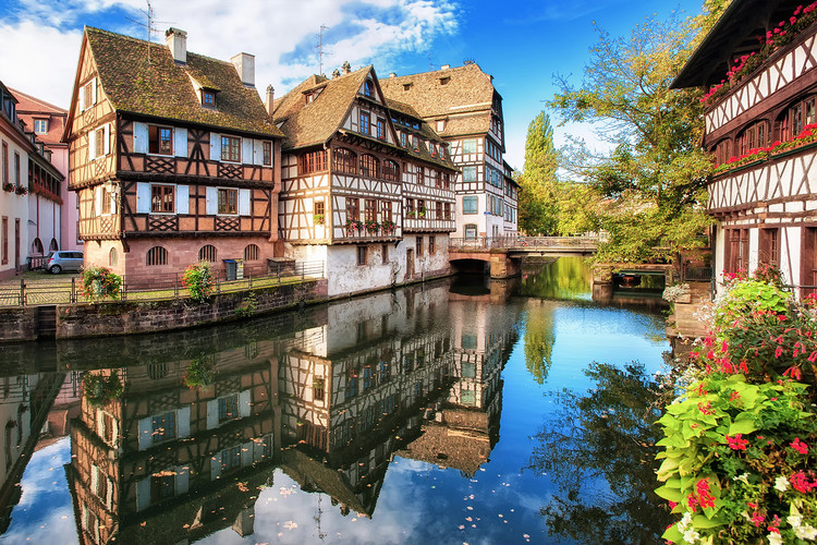 Architectural Adventures: Along the Rhine River, Strasbourg | France