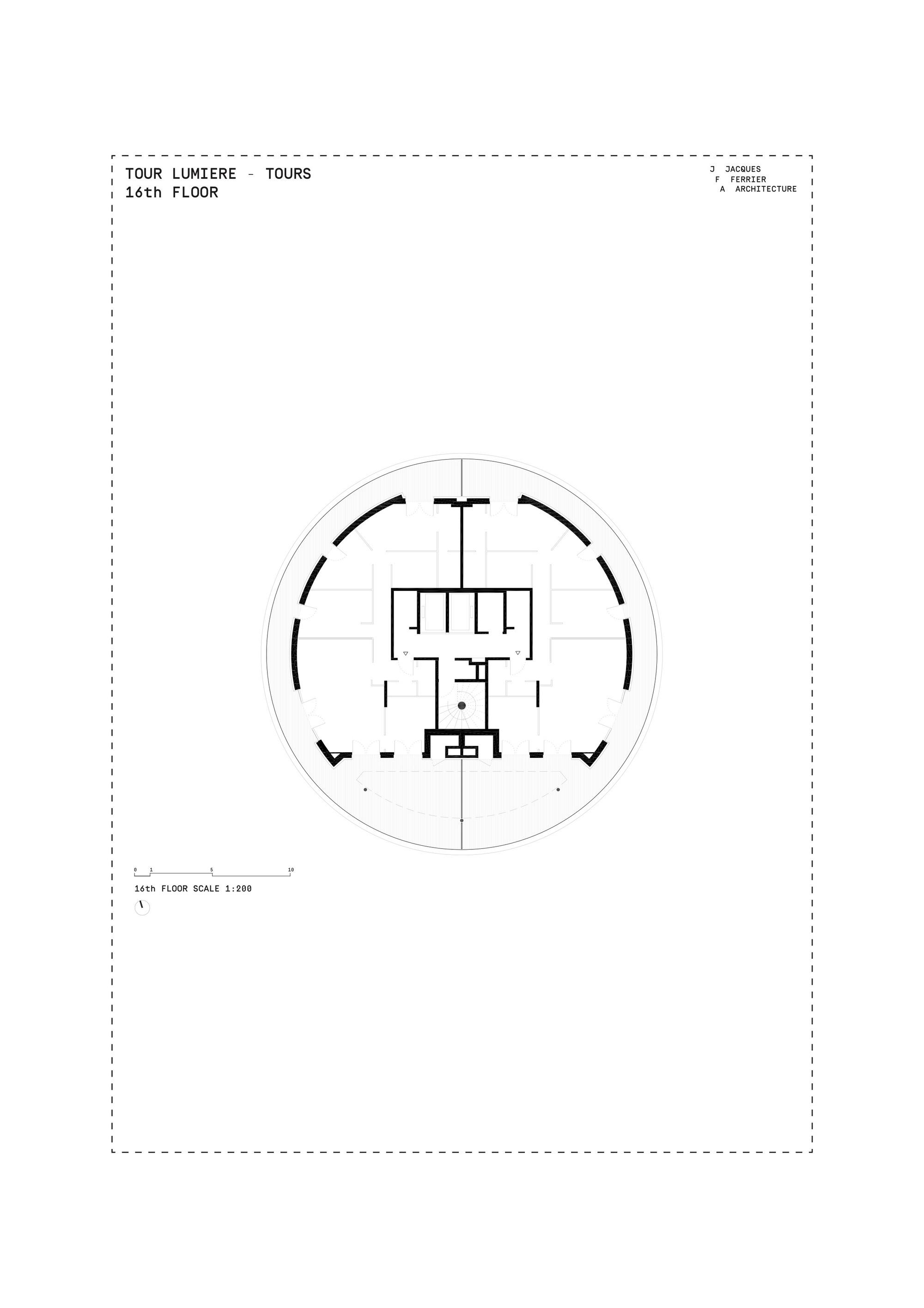 Lumiere Floor Plan Galer 237 A De Tour Lumi 232 Re Jacques Ferrier Architecture 45