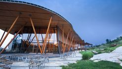Vance Tsing Tao Pearl Hill Visitor Center / Bohlin Cywinski Jackson