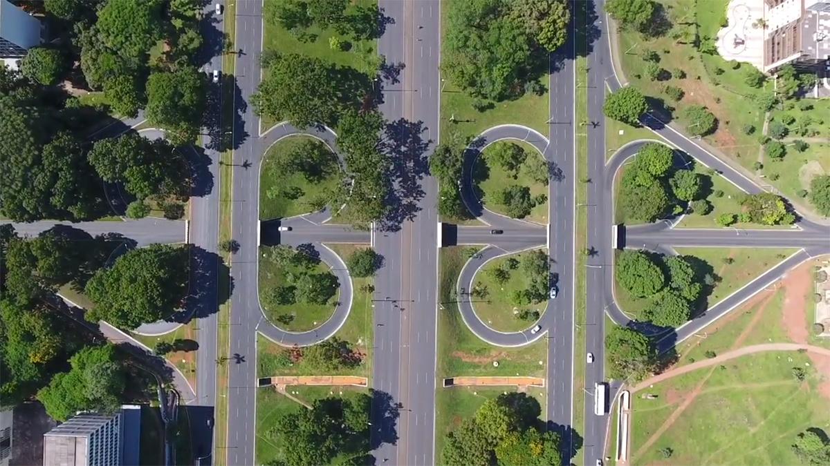 Brasília From Above: Aerial Videos by Joana França