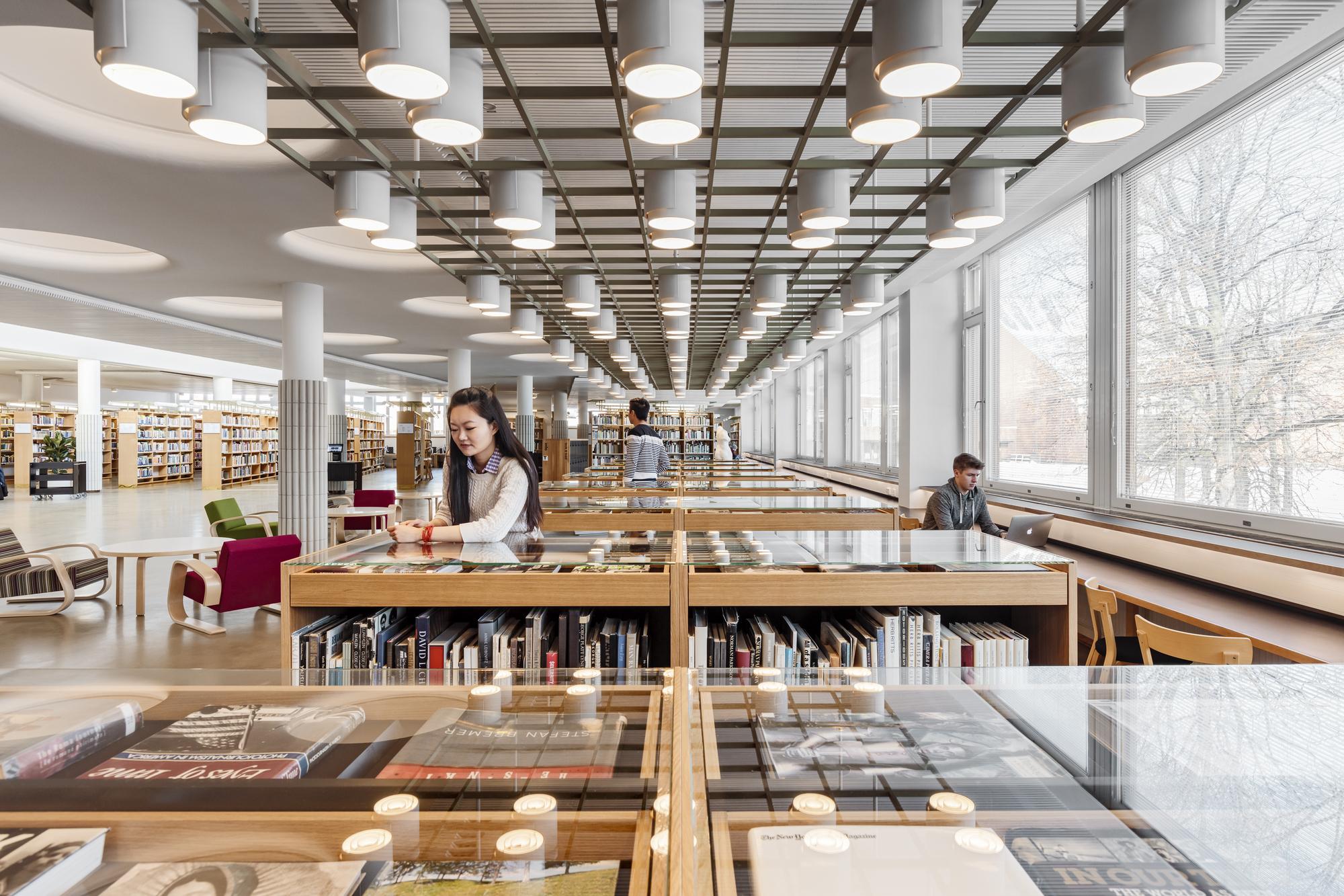 Gallery of Aalto University Library - Harald Herlin Learning Centre / JKMM + Architect NRT ltd - 4