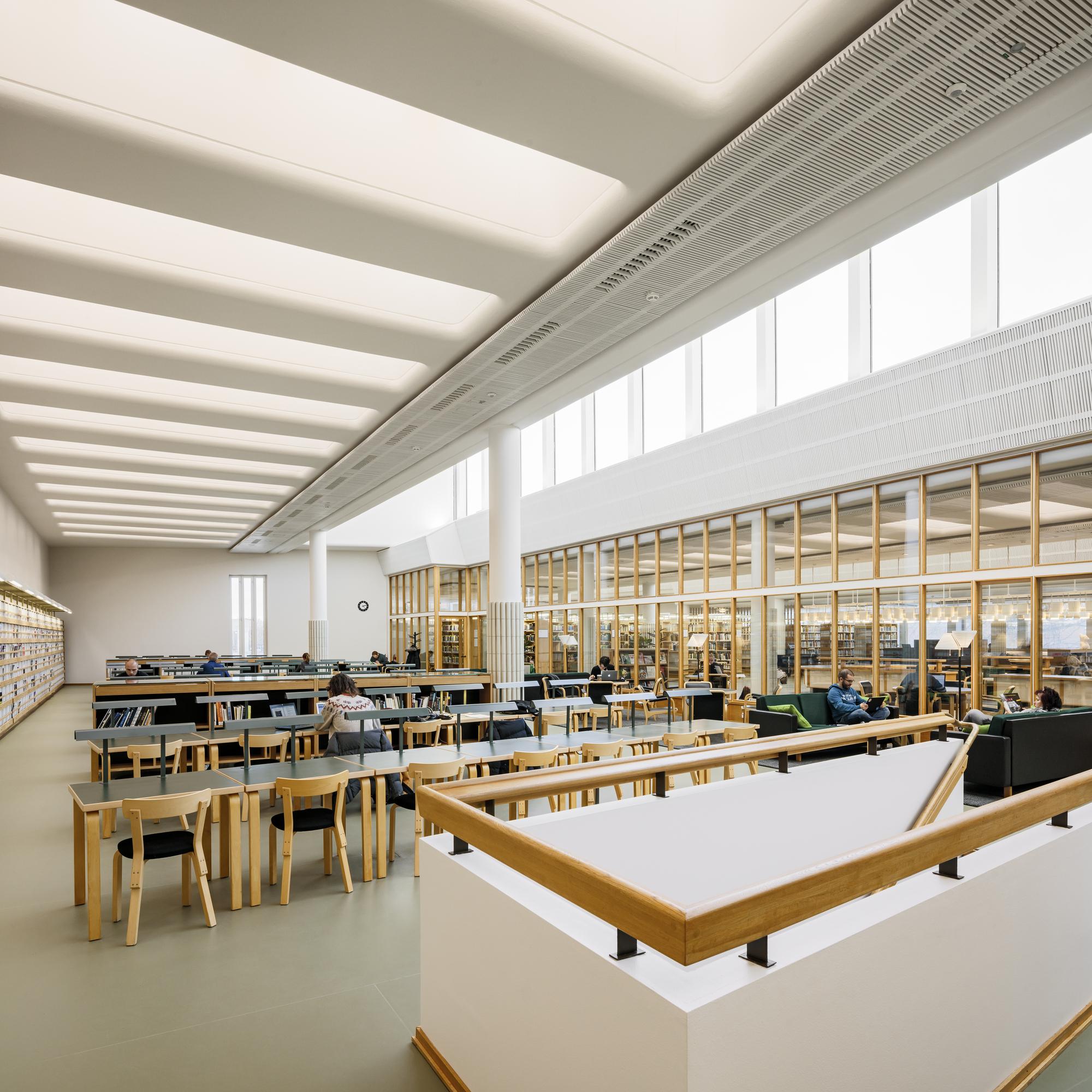Gallery of Aalto University Library - Harald Herlin Learning Centre / JKMM + Architect NRT ltd - 5