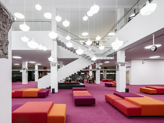 Aalto University Library - Harald Herlin Learning Centre / JKMM + Architect NRT ltd