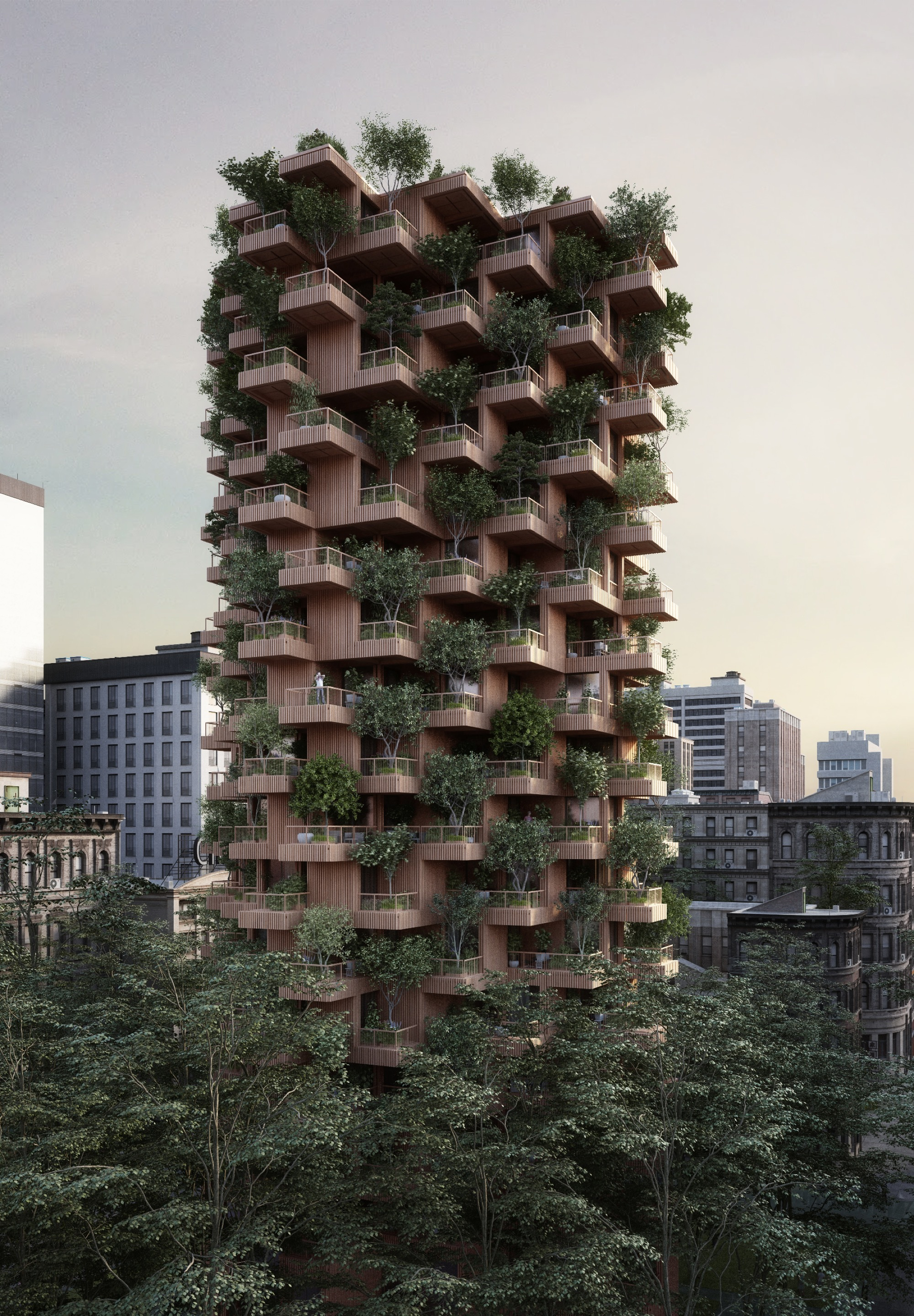 Gallery Of Penda Designs Modular Timber Tower Inspired By