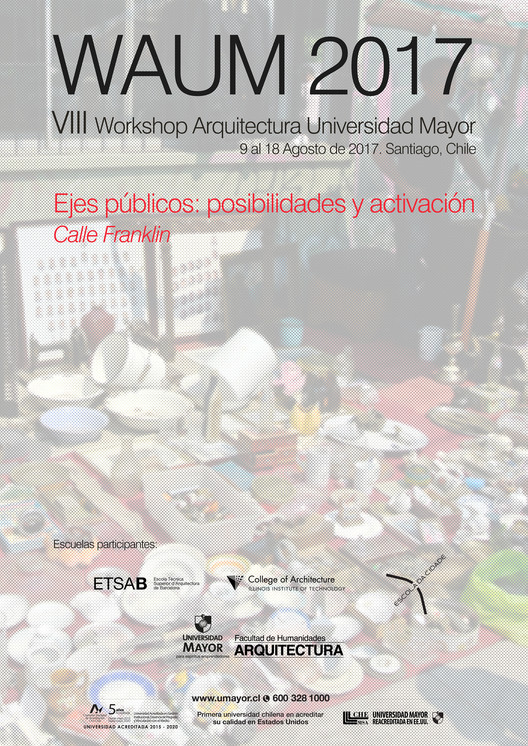 WAUM 2017. Workshop Arquitectura Universidad Mayor