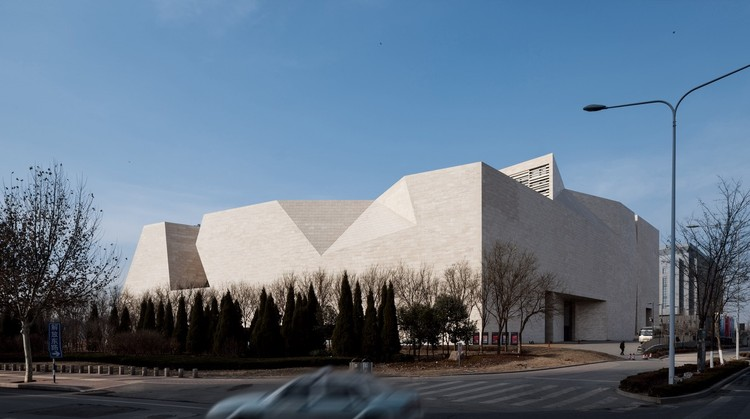 Shandong Art Gallery Tjad Archdaily