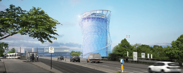 LAVA Breaks Ground on Sculptural Energy Tower in Germany, Courtesy of LAVA