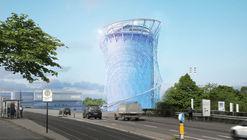 LAVA inicia a construção de uma torre de energia escultórica na Alemanha