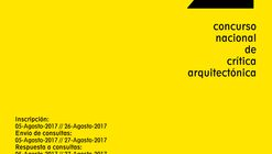 II Concurso Nacional de Crítica Arquitectónica / Perú