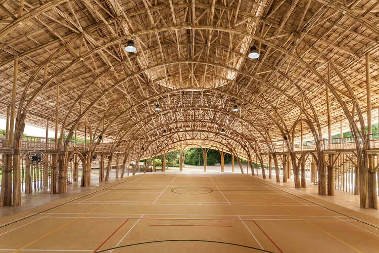 Bamboo Sports Hall for Panyaden International School / Chiangmai Life Construction, © Alberto Cosi