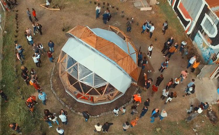 Trabajo final de carrera en escala real: 8 proyectos construidos para la comunidad por estudiantes de arquitectura en Argentina , Cortesía de Cátedra PFI / UM FADAU