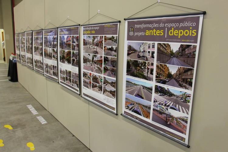 Exposição Antes e Depois, as transformações do espaço público , ANTES / DEPOIS: transformações do espaço público