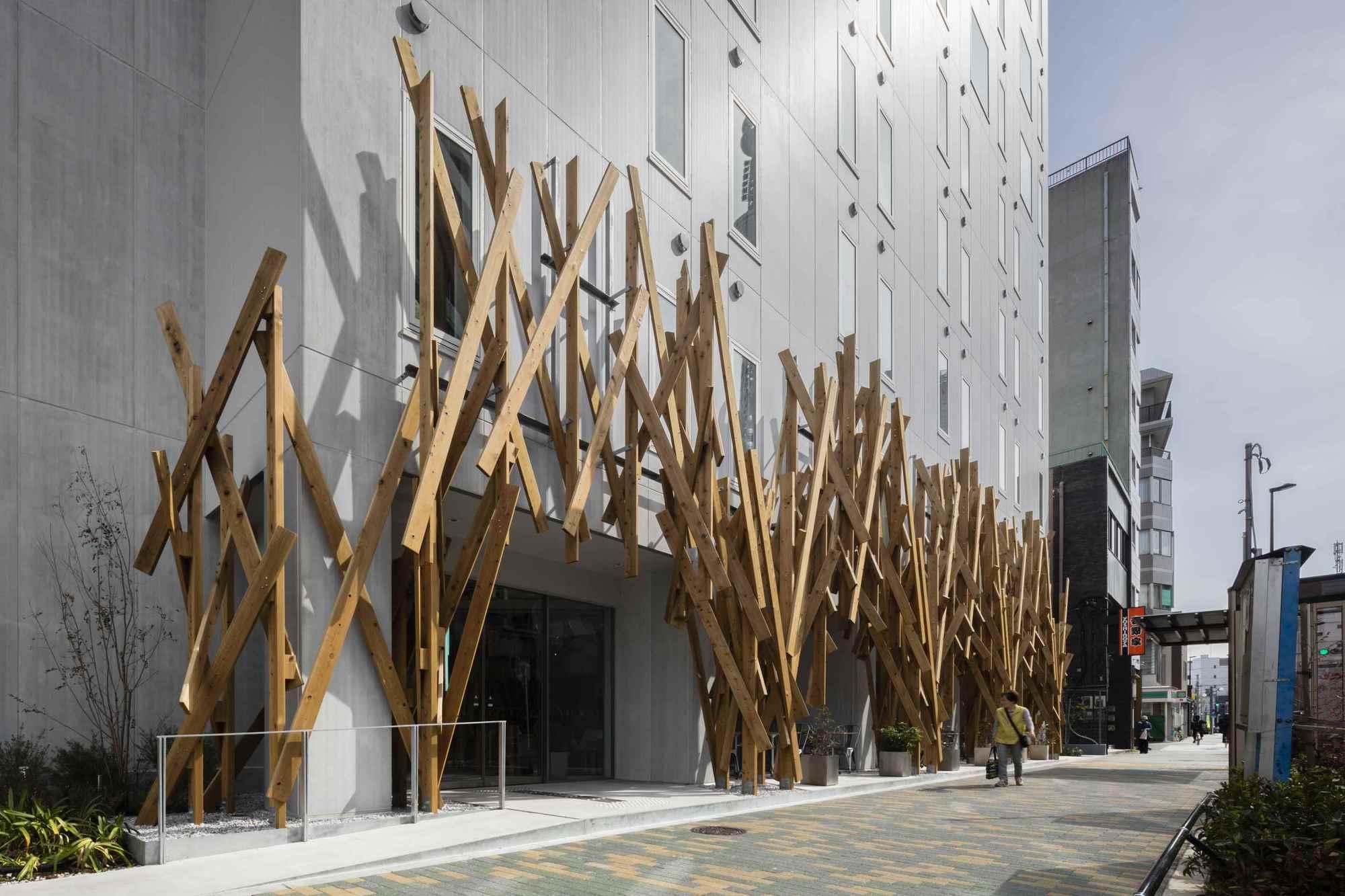 One Tokyo Kengo Kuma Amp Associates Archdaily
