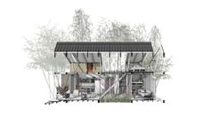 Esta es la vivienda propuesta ganadora del Premio Corona Pro Habitat 2017